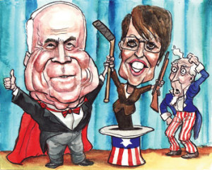 Sarah Palin - the Woman from Nowhere?